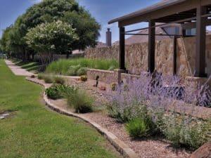 Panther Creek Estates Landscaping along Eldorado