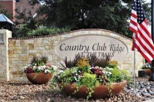 Country Club Ridge Entrance 2 2