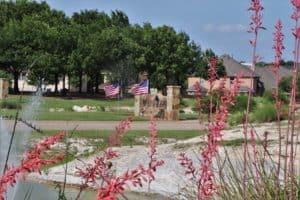 Panther Creek Estates Entrance Memorial Day