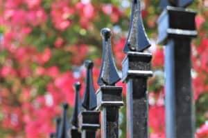 Eldorado Fairways iron fence finials