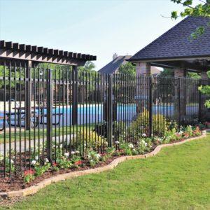 Eldorado Fairways pool flower beds spring color 2020 2